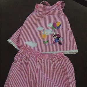 Disney tank and bloomers